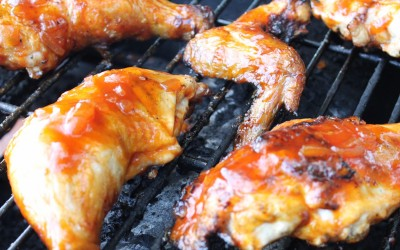 BBQ Chicken with Homemade BBQ Mop