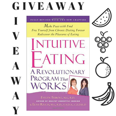 Intuitive Eating GIVEAWAY